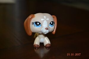 Dachshund #1491 (Tan, Blue Eyes) - Littlest Pet Shop