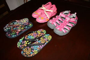 Chaussures/sandales pour fille taille 3.