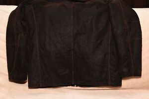 Leather Jacket by Denver Hayes lined with Thinsulate-Like Fill Peterborough Peterborough Area image 7