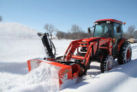 Book your Snow Removal Service NOW - Winter will soon be here!