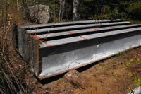 4 I beams for sale--$600. EACH
