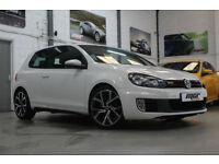 VW Golf 2.0 TSI 210 GTi DSG, 60 Reg, 59k, Candy White, Sat Nav, Clubsport Alloys