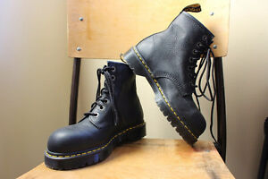 Brand New Black Leather Doc Martens Boots