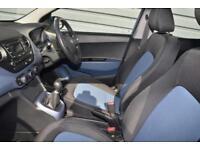 2016 Hyundai i10 1.2 Premium Petrol blue Manual