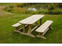 £70 off!!! Devon Picnic Table & Bench Set - free delivery