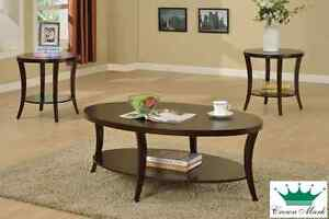 Brand NEW 3-Piece Coffee Table Set! Call 9056883939