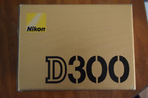 AS NEW - Nikon D300 and lens