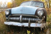 1949 METEOR 2 DOOR SEDAN ( BEHIND THE BARN FIND ).