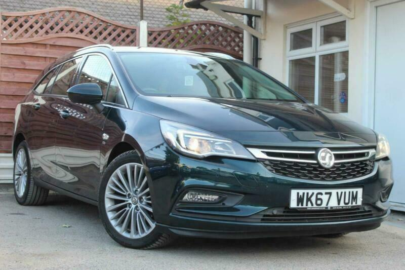2017 Vauxhall Astra 1.4i Turbo Elite Sports Tourer Auto (s/s) 5dr Estate Petrol