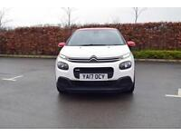 2017 CITROEN C3 Citroen New C3 1.2 PureTech [82] Feel 5dr [17in Alloys]