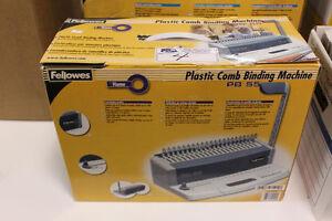 FELLOWS PB55 COMB BINDING MACHINE - (CERLOX STYLE)