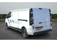 2018 Vauxhall Vivaro 2900 1.6CDTI 120PS Sportive L2 H1 Van Manual Van Diesel Man