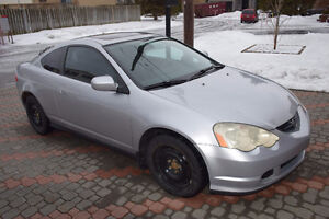2003 Acura RSX silver Coupe (2 door) West Island Greater Montréal image 3