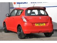 2017 Suzuki Swift 1.2 SZ3 3dr Petrol red Manual