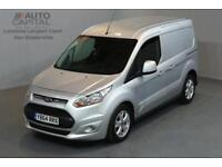 FORD TRANSIT CONNECT 1.6 200 LIMITED P/V 5D 114 BHP SWB AIR CONDITION R. SENSORS