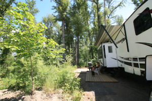 Full service rv site available for jan 15 central kelowna