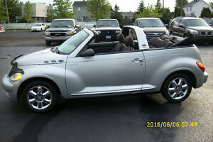 2005 Chrysler PT Cruiser turbo convertible automatique
