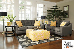 Brand NEW Forsan Grey Sofa! Call 705-735-3344!