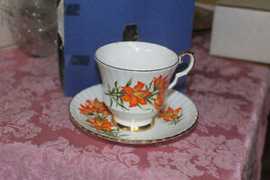 New Prairie Lily Bone China Cup & Saucer