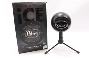 Microphone Blue Snowball ICE comme neuf Seulement 49.95$