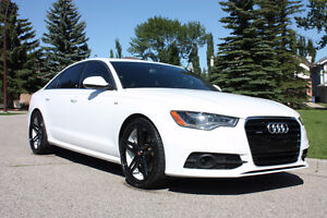 2012 Audi A6 presitge S-Line Sedan With S6 power, 3 sets of rims