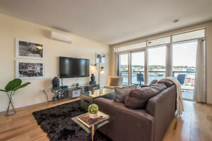 Stunning 2 Bed 2 Bath + den Bedford Condo on Waterfront Dr.