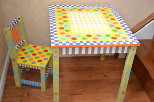 Kids size Table and Chair