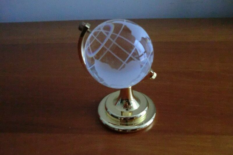 Crystal Globe of the World