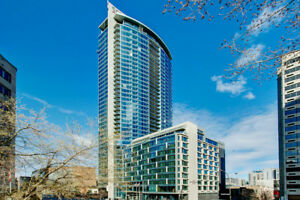Amazing 1 Bdrm Condo Downtown MTL for Lease Transfer Dec-May