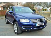 Volkswagen Touareg 2.5TDI DPF Auto 2007 SE, 130K MILES, NEW MOT, FULL S/HISTORY