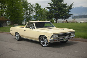 1966 Chevrolet El Camino Custom V8 Coupe (2 door)