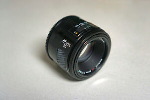 Minolta 50mm f/1.7 AF lens for Sony cameras