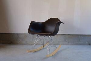Eames molded rocker chair