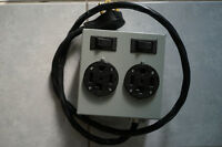 Miele Double Receptacle Box for Washer and Dryer