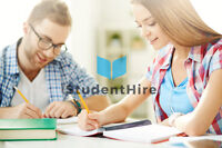 Tutoring by StudentHire - You set the Price!