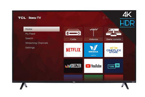 """NEW TCL 55S425-CA 4K Ultra HD Smart LED Television (2019), 55"""""""