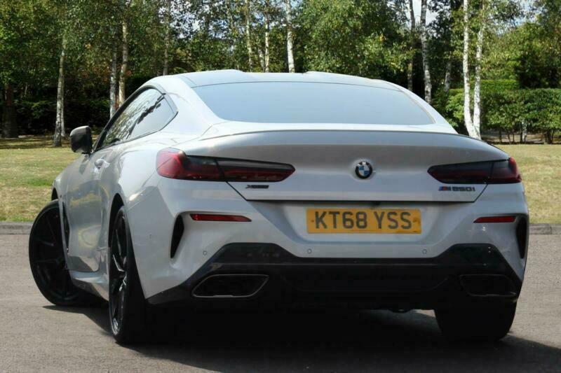 2019 Bmw 8 Series G15 M850i Xdrive Coupe N63 44i Petrol White