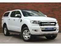 2018 Ford Ranger 2.2 TDCi Limited 1 Double Cab Pickup 4WD (s/s) 4dr Pickup Diese