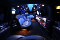 Party like a rockstar in a stretch 8 passenger Lincoln Navigator