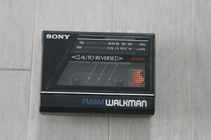 Sony walkman casette AM/FM player