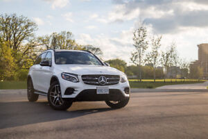 Lease takeover on a beautiful brand new Mercedes 2018 GLC 300