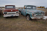 2 1960 Ford F-100