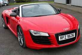 2013 Audi R8 4.2 quattro Spyder - LOW Mileage 18000- Leather Interior!!