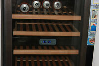 DANBY WINE FRIDGE 6 TRAY STAINLESS STEEL MOVING SALE