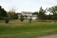 looking to downsize from large acreage house