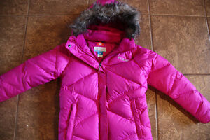 Girls Youth Size M (10/12) Columbia Winter Jacket - Fuchsia