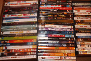 DVD Movies for sale $2.00 per DVD