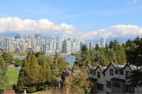 Gorgeous False Creek Views From This Two Bedroom Fairview Condo