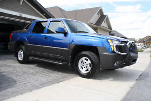 2003 Chevrolet Avalanche, low km's