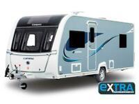 2021 Compass Camino 550 single axle 4 berth caravan with island bed alde heating